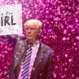 Trump Fires Off Giant Pink Glitter Cannon To Reveal Gender Of SCOTUS Nominee