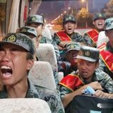 Video shows Chinese soldiers crying as they allegedly head to Sino-Indian border   Taiwan News