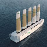This Gigantic Sailboat Design Could Use Wind Power to Transport 7,000 Cars