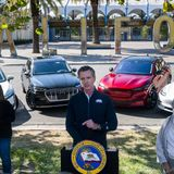 California to ban sale of new gas-powered cars in 2035 under Newsom order