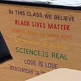 Black Lives Matter Sign In Middletown Classroom Ignites Debate