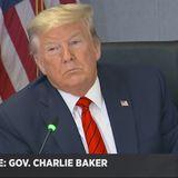 'We Lost To The Feds' On Coronavirus Supply Bids, Baker Tells Trump