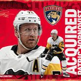 Florida Panthers Acquire Patric Hornqvist from Pittsburgh Penguins