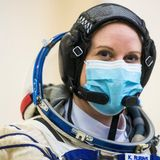 Nasa astronaut to cast her ballot from space station
