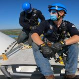 As fossil fuel jobs falter, renewables come to the rescue