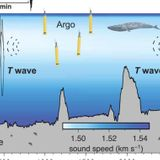 Seismic sound waves crossing the deep ocean could be a new thermometer