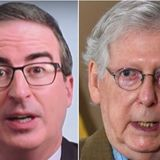 John Oliver Is So Done With 'Horrendous And Deeply Weird' Mitch McConnell