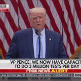 Trump announces plan to distribute 150 million rapid coronavirus tests