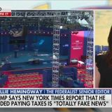 Fox 'Hard News' Anchors Stay Silent When Pundit Pushes Trump Tax Conspiracy