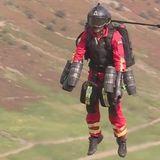 Jet suit paramedic 'could save lives'