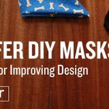 Trump's Test Highlights Importance Of Masks. Here's How To Make Safer DIY Coverings