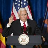 With Trump hospitalized, VP Mike Pence will visit Arizona for a Thursday rally, campaign says