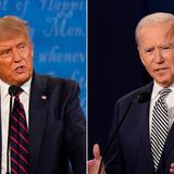 Fact check: Trump campaign runs Facebook ads featuring fake image of Biden wearing earpiece