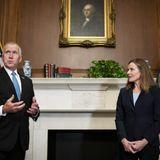 Virus spreads on panel handling Supreme Court nomination