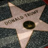 Trump's Hollywood star smashed by someone in Hulk costume: report