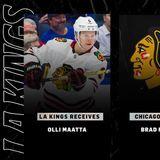 Kings Acquire Olli Maatta from Blackhawks