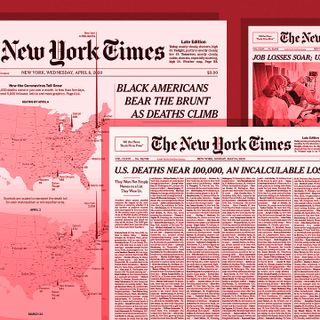Why 'The New York Times' reinvented its front page to cover COVID-19