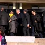 Catalan president visits fellow independence leaders in prison