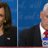 CCP Censors Pence's Debate Comments On China But Airs Harris's
