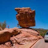 Precarious rocks help refine earthquake hazard in California