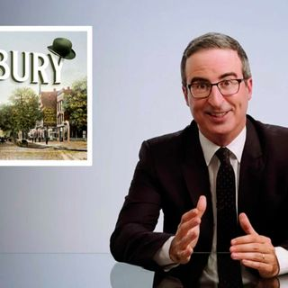 'Much needed laugh': Danbury officially names 'John Oliver Memorial Sewer Plant'