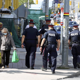 Fewer than half of Canadians feel safer when they see a police officer, poll finds