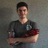 Missing an arm, this university student made one from Lego