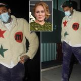 Chris Brown reportedly makes late-night visit to Adele's London home