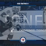 Jets sign Dominic Toninato to a one-year, two-way contract