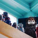 Bizarre Robot Heist Rattles Beloved Ice Cream Shop Toy Boat by Jane