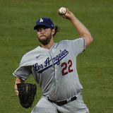 Dodgers' Clayton Kershaw Scratched from Game 2 Start vs. Braves with Back Injury