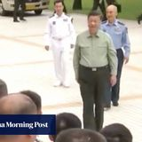 Xi tells marines to focus on 'preparing to go to war' in visit to base