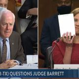 ACB Didn't Even Use Notes For Her Lengthy Senate Hearing
