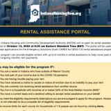 Indiana reopens rental assistance portal for tenants with pending eviction cases - WISH-TV | Indianapolis News | Indiana Weather | Indiana Traffic