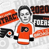 Flyers sign RW Tyson Foerster to entry-level contract