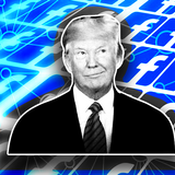 A network of pro-Trump public Facebook groups is promoting right-wing clickbait