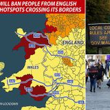 Wales bans people from parts of the UK from entering