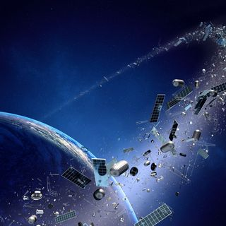 """Old Russian satellite and Chinese rocket at """"very high risk"""" of colliding, could create big mess in space"""