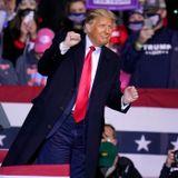 Trump makes false claims on jobs, border wall and Biden's childhood at rally: fact check