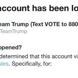 Twitter locks Trump's campaign account for posting Biden Ukraine story