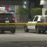 LAPD: Suspect fatally shot by police after threatening group of people at South L.A. gas station