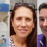 The nurses risking it all on the frontline of Britain's coronavirus outbreak