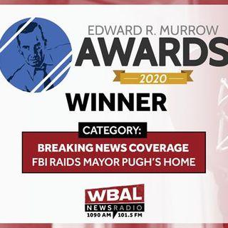 WBAL NewsRadio 1090 and FM 101.5 honored with National Edward R. Murrow Award