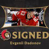 Ottawa Senators sign forward Evgenii Dadonov to a three-year contract
