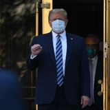 New Trump ad features multiple clips of president wearing mask