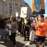 Women's marches protest Trump's Supreme Court nominee