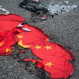 China criminalises insulting its national flag - including turning it upside down