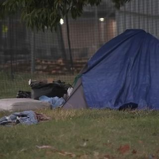 Man says he was assaulted by Philadelphia encampment resident hours before dismantling began