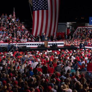 As Trump Campaigns on False COVID Optimism, A New Peak Looms