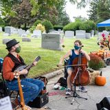 'The residents don't complain' at this pop-up market located inside an old Delaware County cemetery